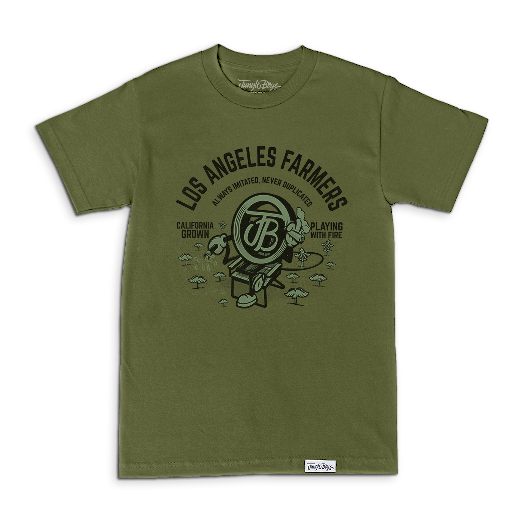 Always Imitated Never Duplicated Tee (Military Green)