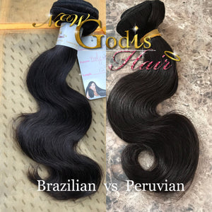 Brazilian vs Peruvian Hair