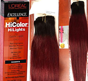 Dye your Virgin Hair Extensions Red without BLEACH!