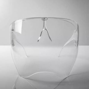 clear dome face shield