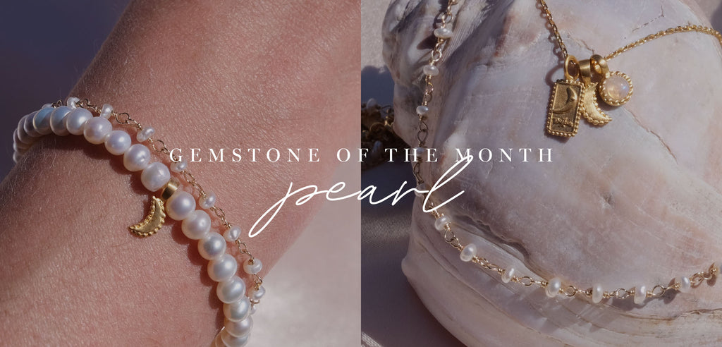 Gemstone of the month June Pearls