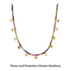 Peace and Protection Choker Necklace