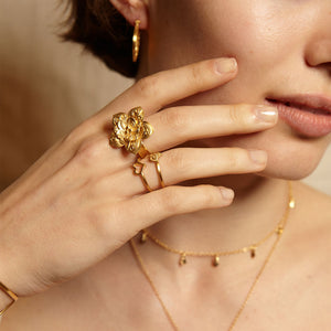 Journey to Love Gold Ring - Satya Jewelry