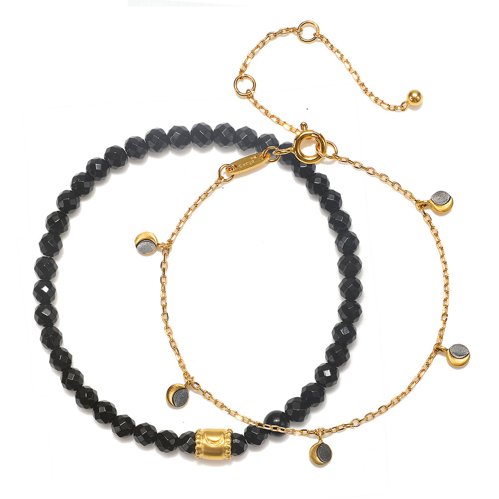 Visualize Light Moon Bracelet Set