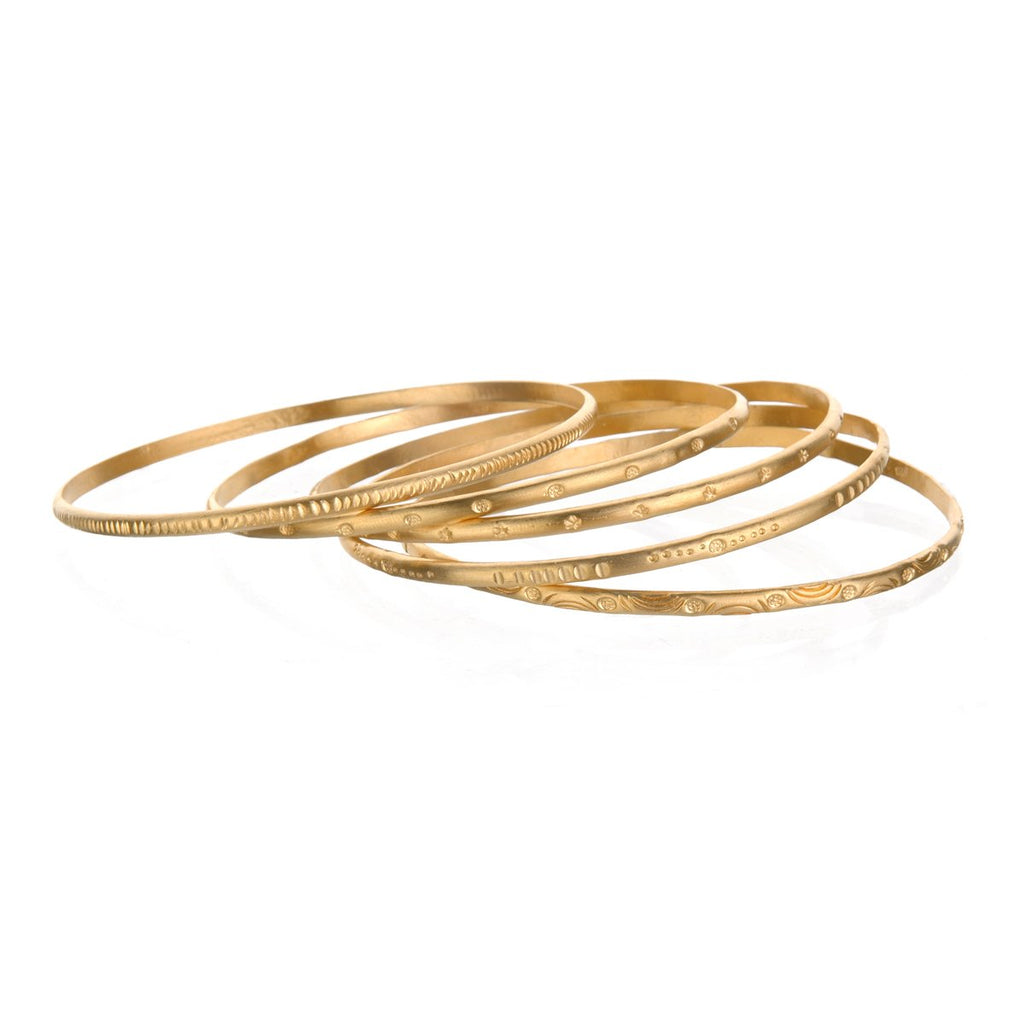 Gold Melody Bracelet Bangle - Satya Online