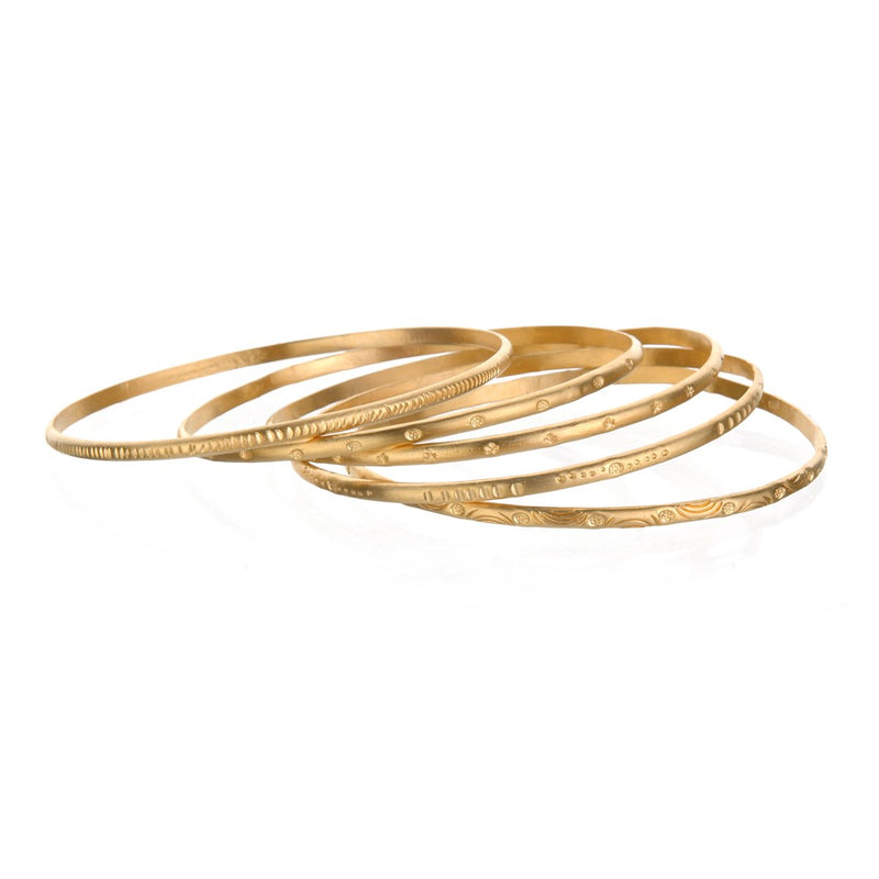 Gold Melody Bracelet Bangle - Satya Jewelry