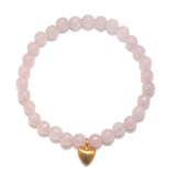 One Heart Stretch Bracelet - Satya Jewelry