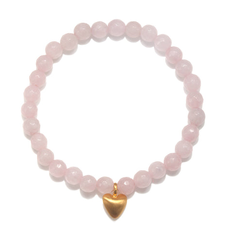 Power of Love Rose Quartz Bracelet