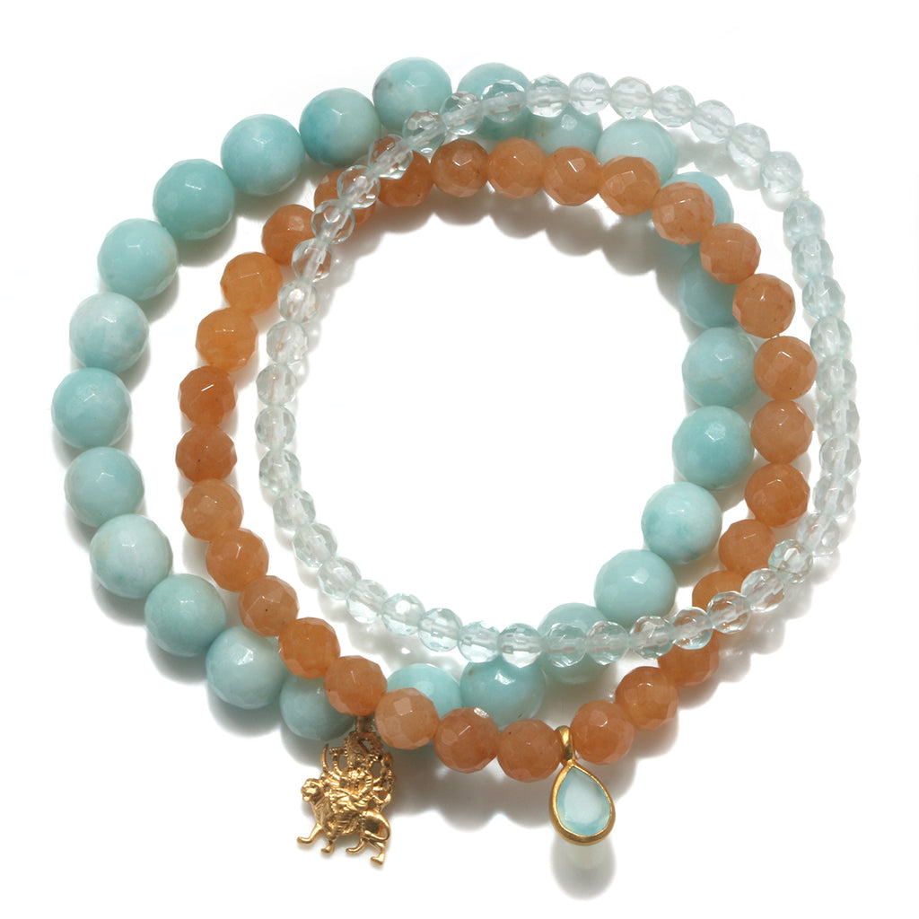 Centered in Spirit Bracelet Set - Satya Jewelry