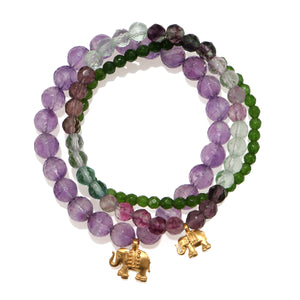 Serene Journey Bracelet Set - Satya Jewelry