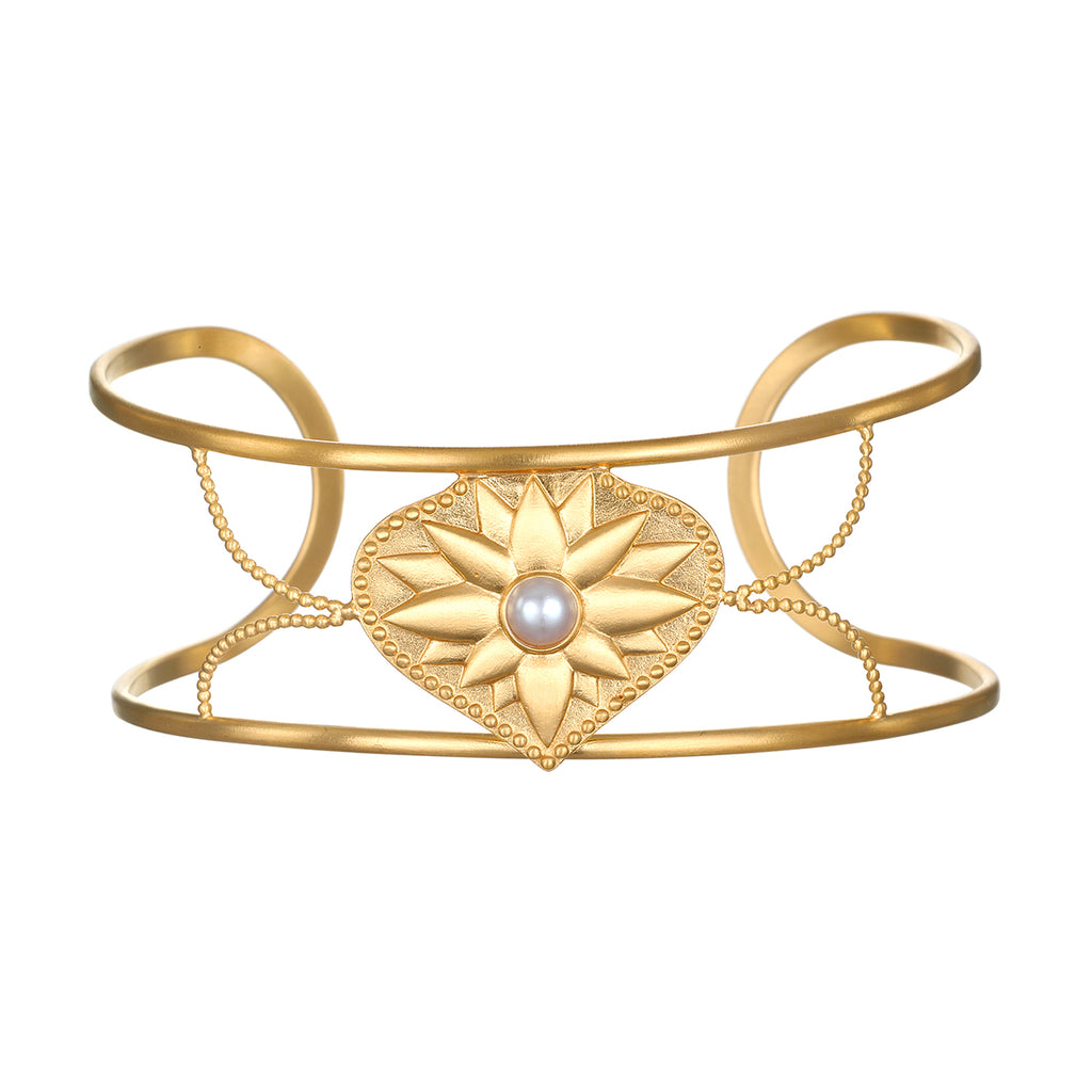 Blessings and Beginnings Cuff Bracelet - Satya Jewelry