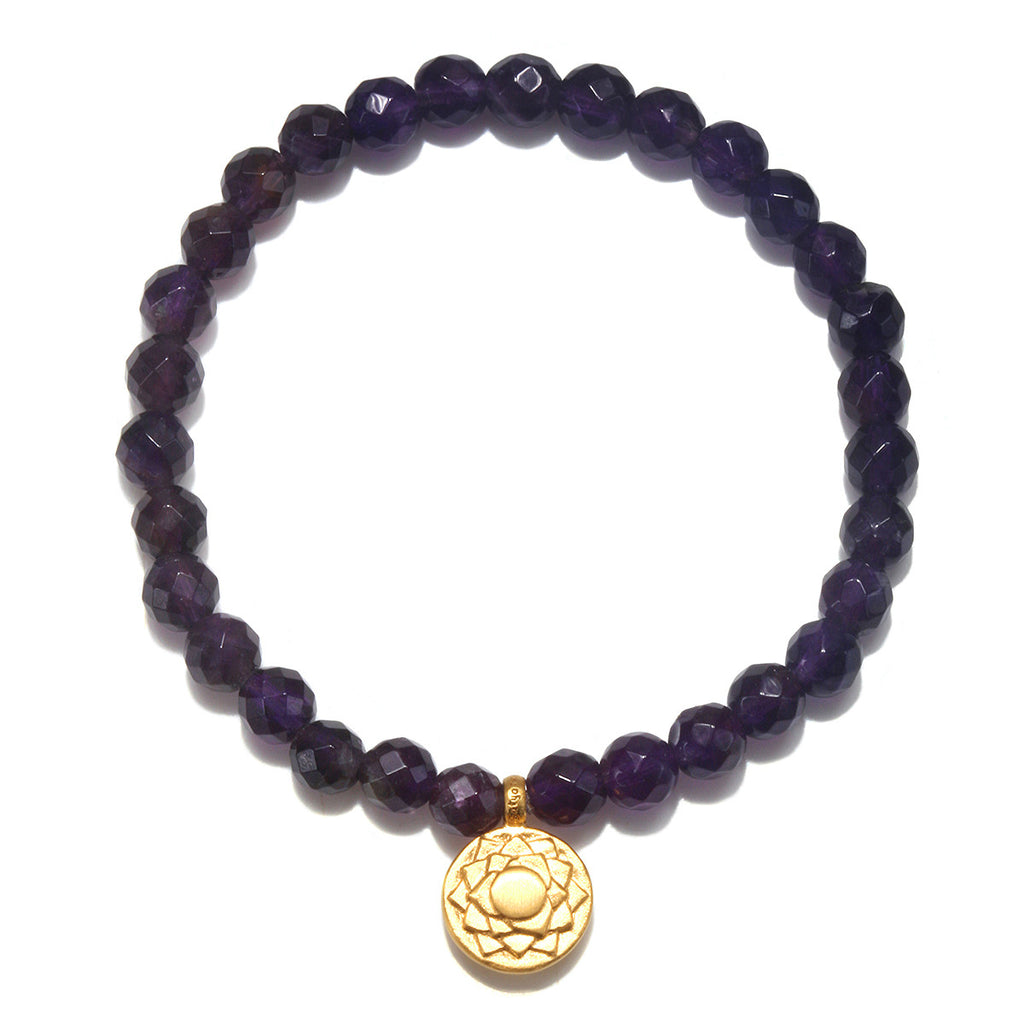Crown Chakra Stretch Bracelet - Satya Jewelry