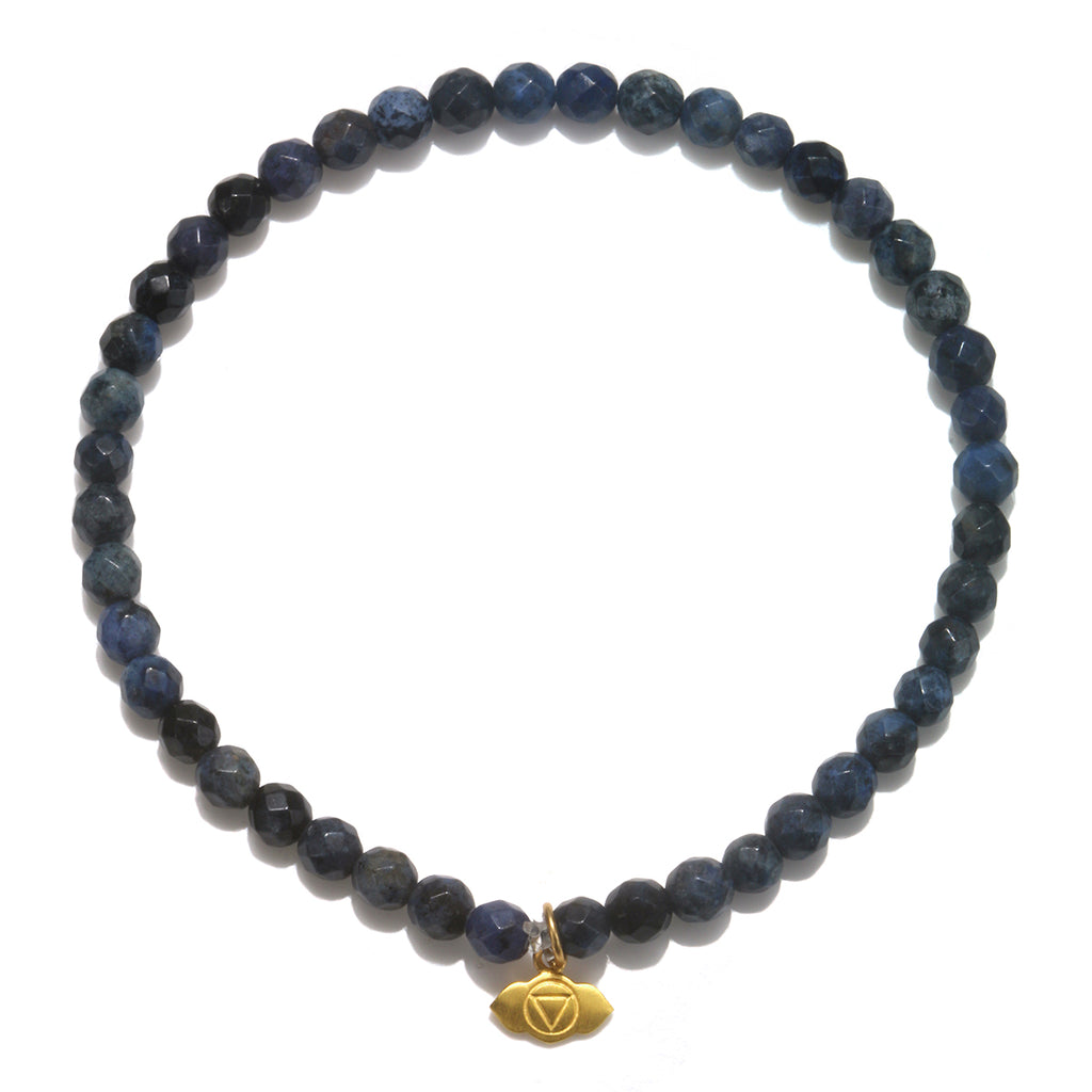 Third Eye Chakra Bracelet - Satya Jewelry