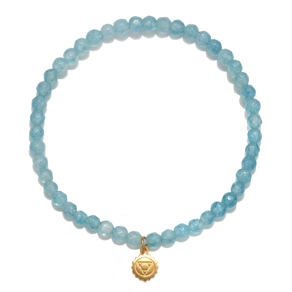 Throat Chakra Bracelet - Satya Jewelry