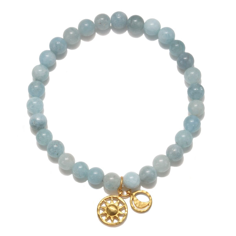 The Solluna Inner Peace Bracelet - Satya Jewelry