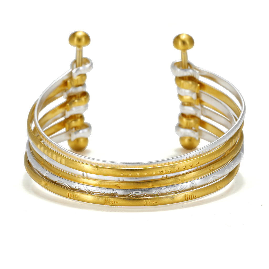 Tranquil Unity Multi-Bangle - Satya Jewelry