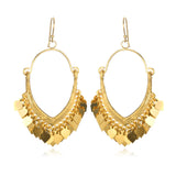 Gold Veils Earrings