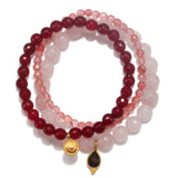 Loving Energy Stretch Bracelet Set - Satya Jewelry