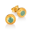 Inner Radiance Emerald Earrings - Satya Jewelry