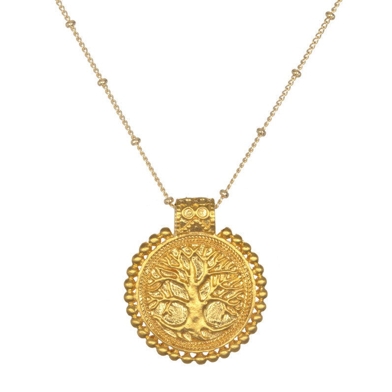 Tree Of Life Mandala Necklace - Satya Jewelry