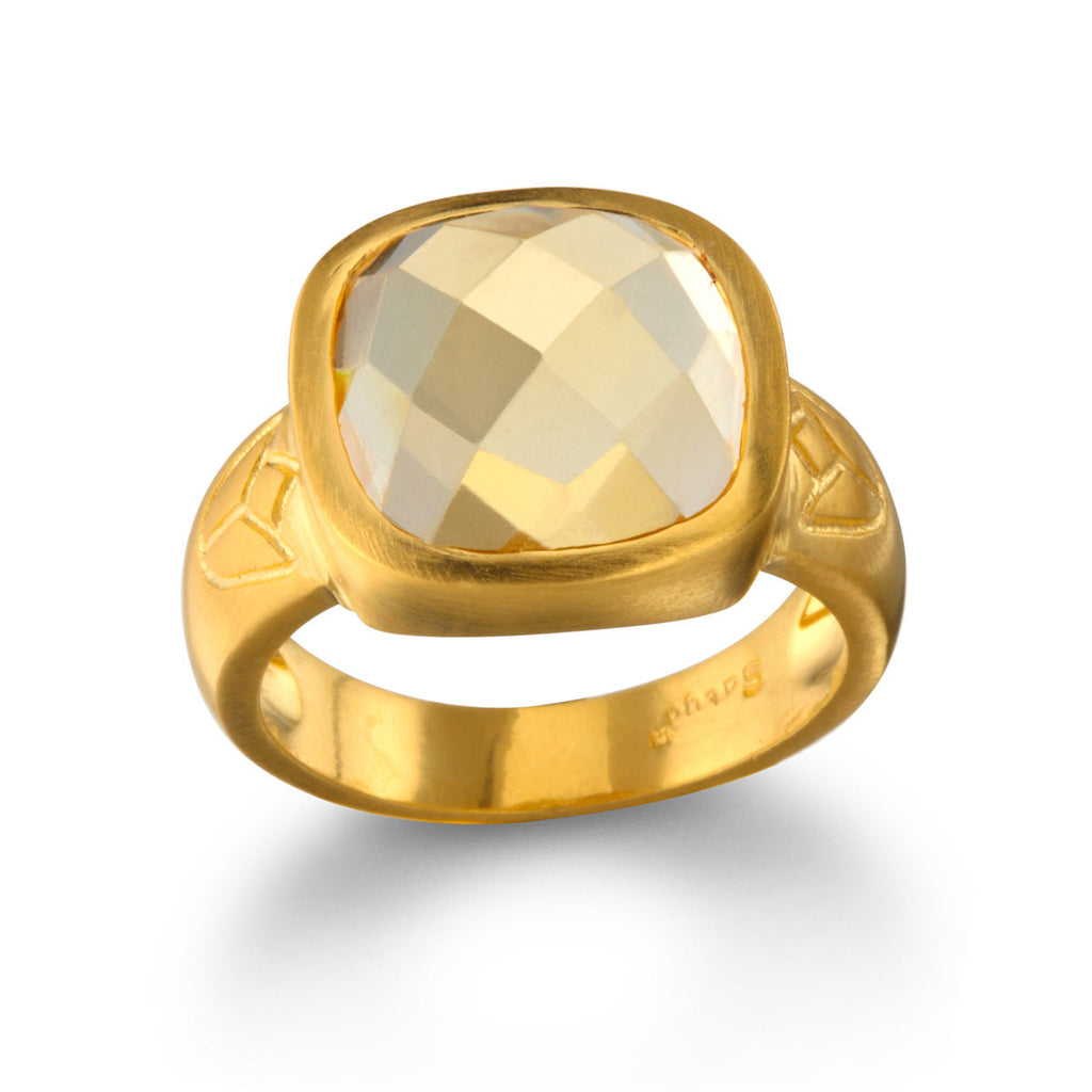 New Perspectives Citrine Ring - Satya Jewelry