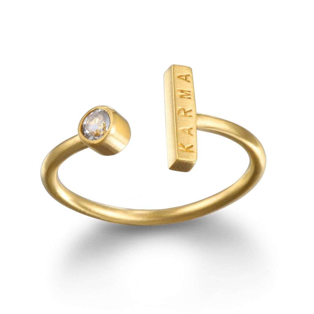 Magical Karma Gold Ring - Satya Jewelry
