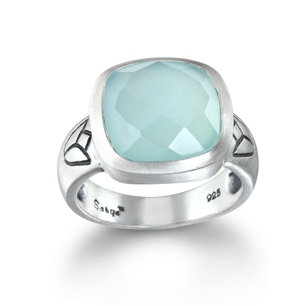 New Perspectives Chalcedony Ring - Satya Jewelry