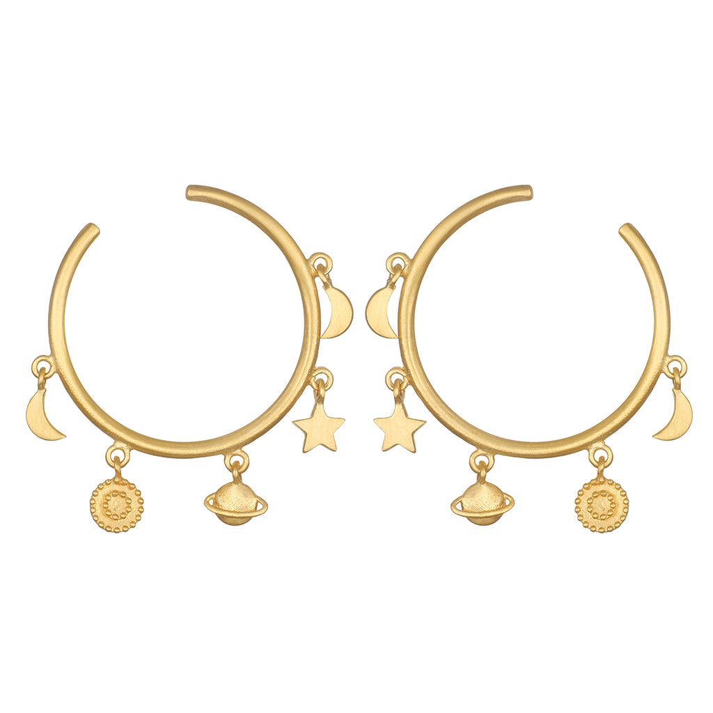 Endless Possibilities Hoop Earrings - Satya Jewelry