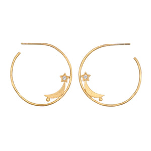 Infinite Aspiration Hoop Earrings - Satya Jewelry