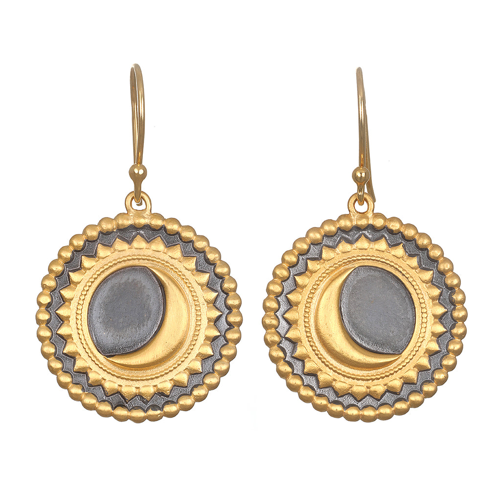 Divine Awakening Eclipse Earrings