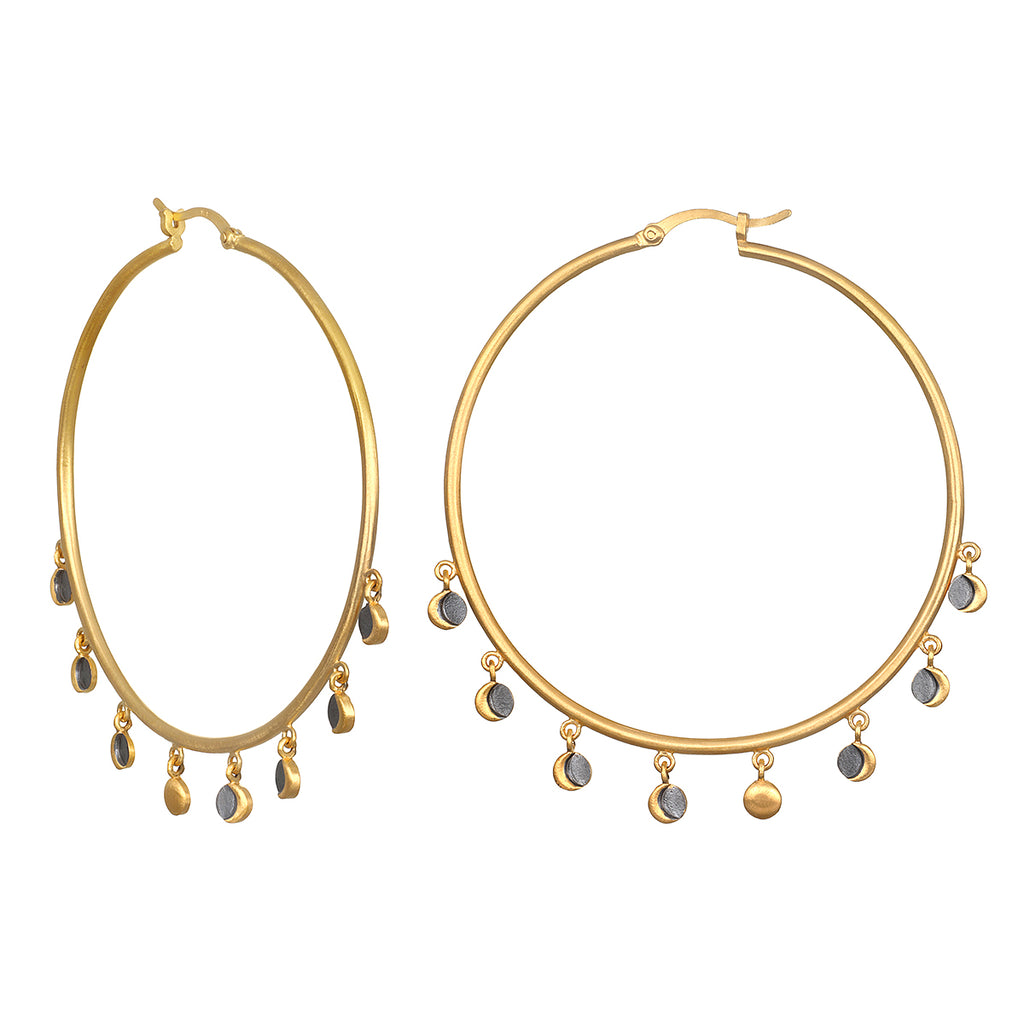 Open to Transformation Hoop Earrings