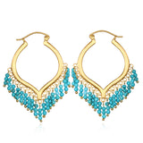 Dream Weaver Turquoise Earrings - Satya Jewelry