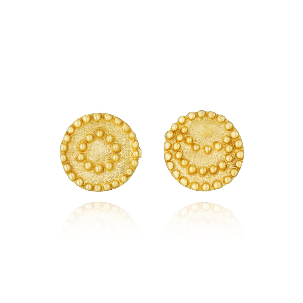 Gold Celestial Earrings - Horizon - Satya Online