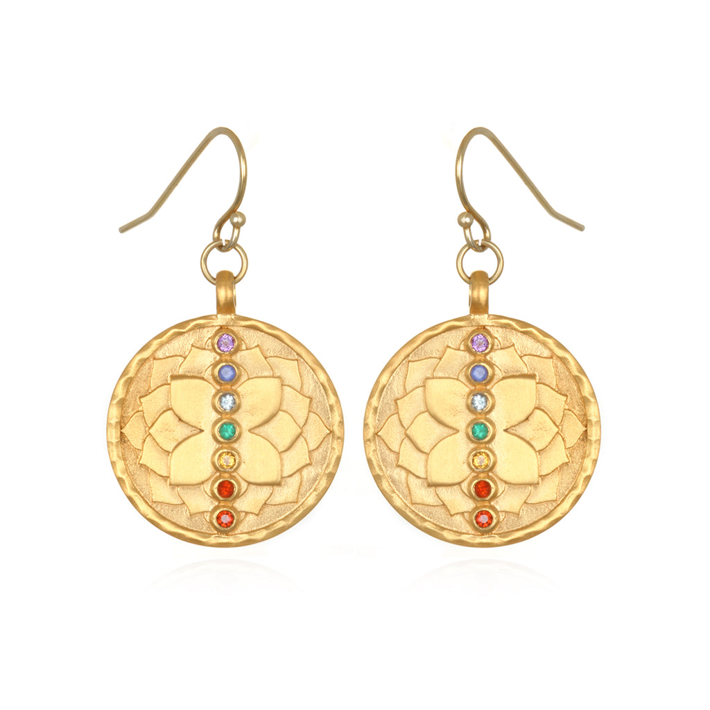 Divine Alignment Chakra Earrings - Satya Jewelry