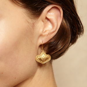 Divine Details Gold Earrings - Satya Jewelry