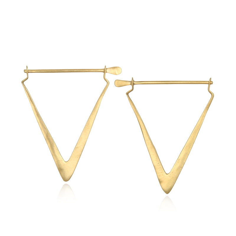 Simple Strength Earrings - Satya Jewelry