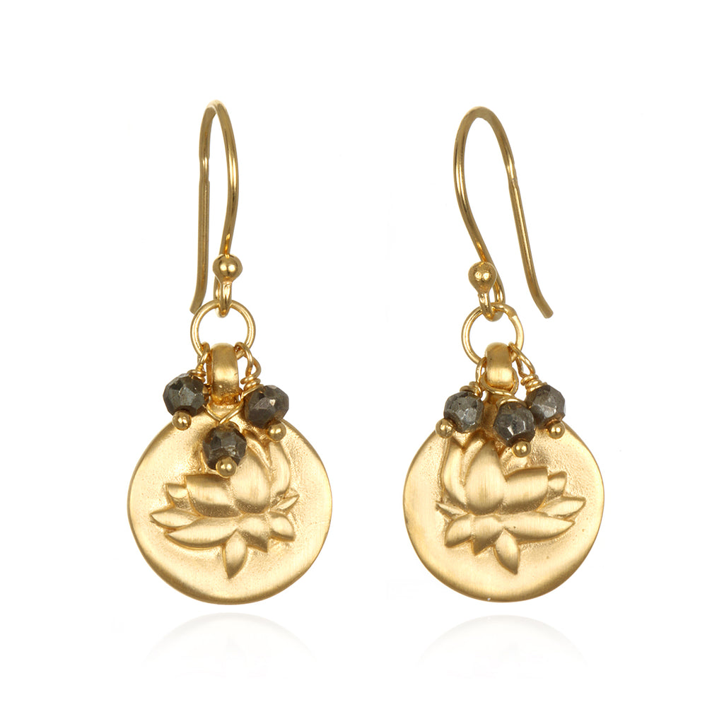 Clarity in Contemplation Earrings - Satya Jewelry