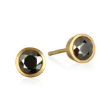 Prosperous Journey Pyrite Stud Earrings