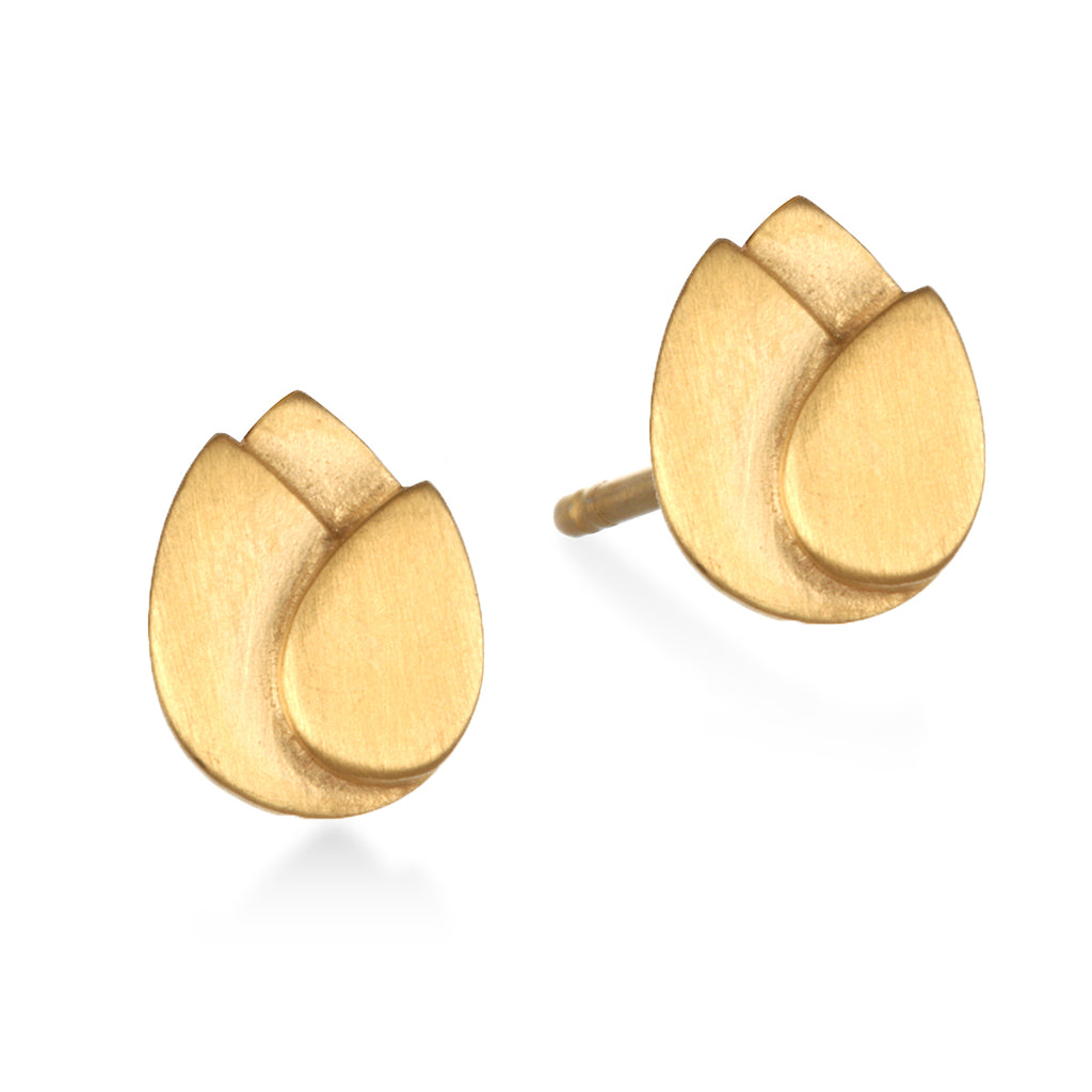 Blooming Splendor Gold Earrings