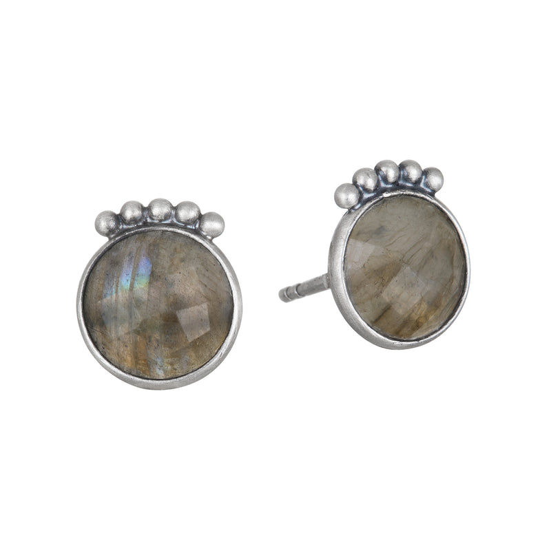 Lit From Within Silver Earrings - Satya Jewelry
