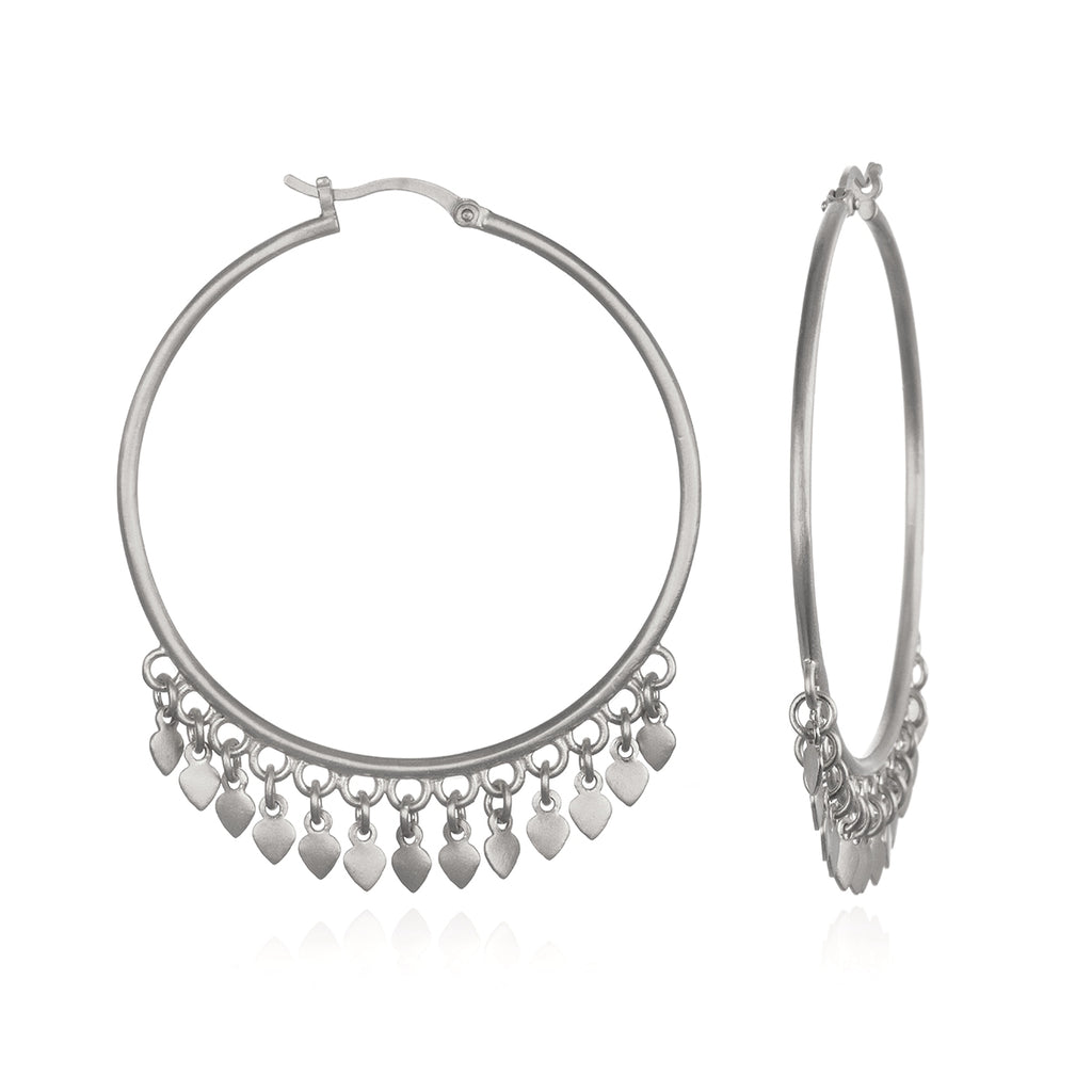 Budding Potential Silver Earrings - Satya Jewelry