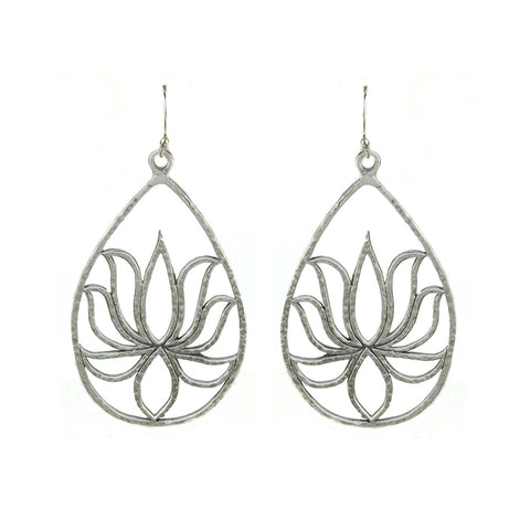 Access To Infinity Mandala Earrings