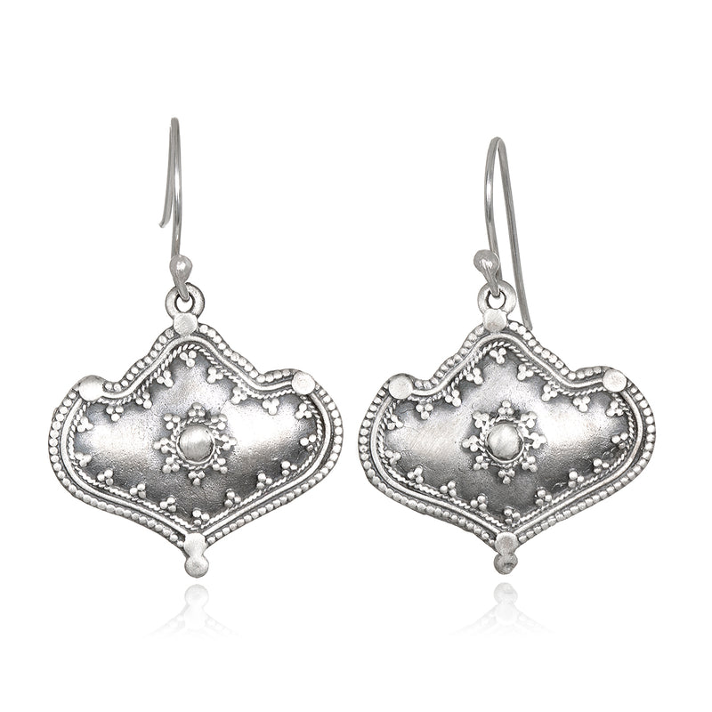 Divine Details Silver Earrings - Satya Jewelry