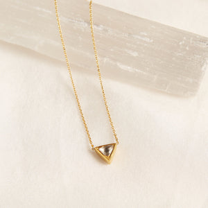 Shine with Strength 18KT Diamond Necklace - Satya Jewelry