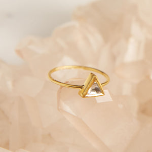 Shine with Strength 18KT Diamond Ring - Satya Jewelry