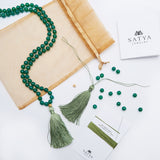 GREEN ONYX MALA KIT - Satya Jewelry