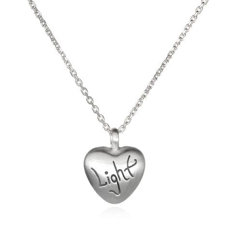 Love & Light - Gold Light Heart Necklace