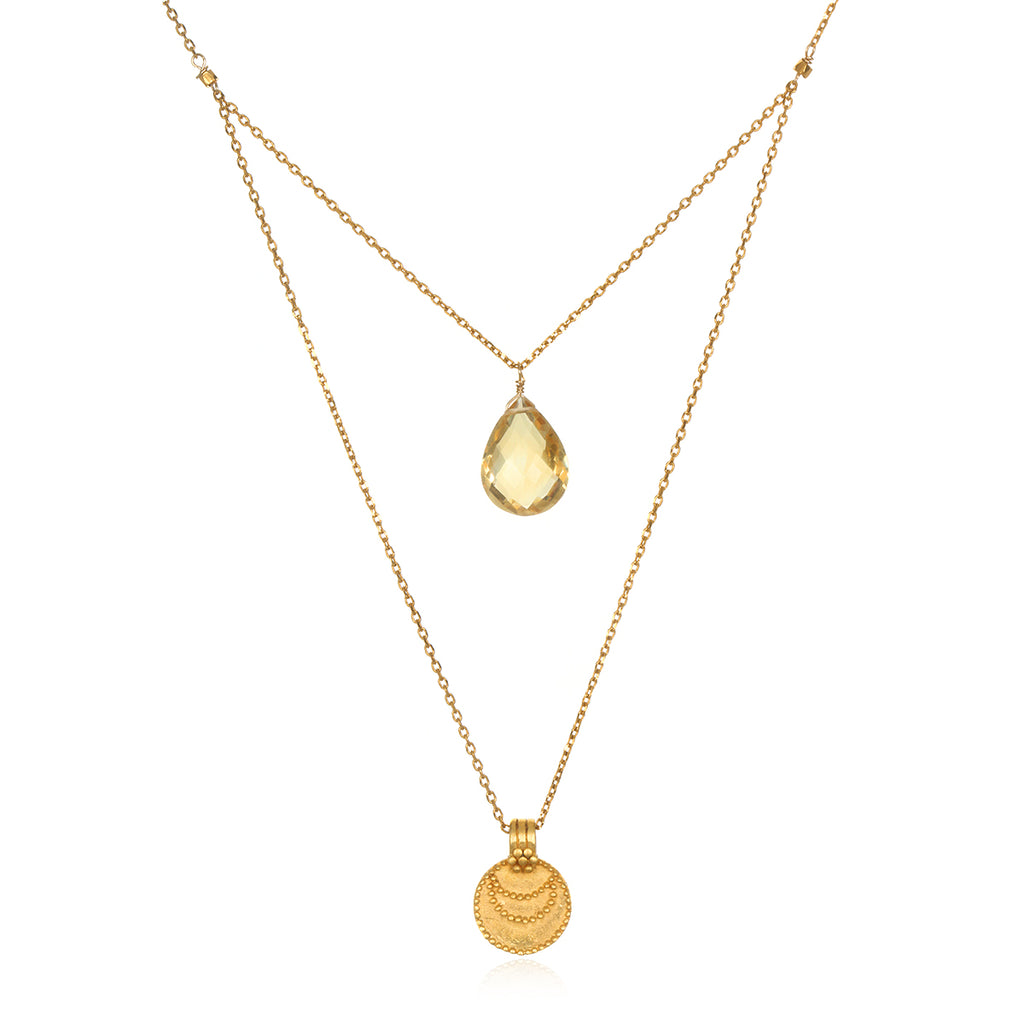 The Solluna Luminous Beauty Necklace - Satya Jewelry