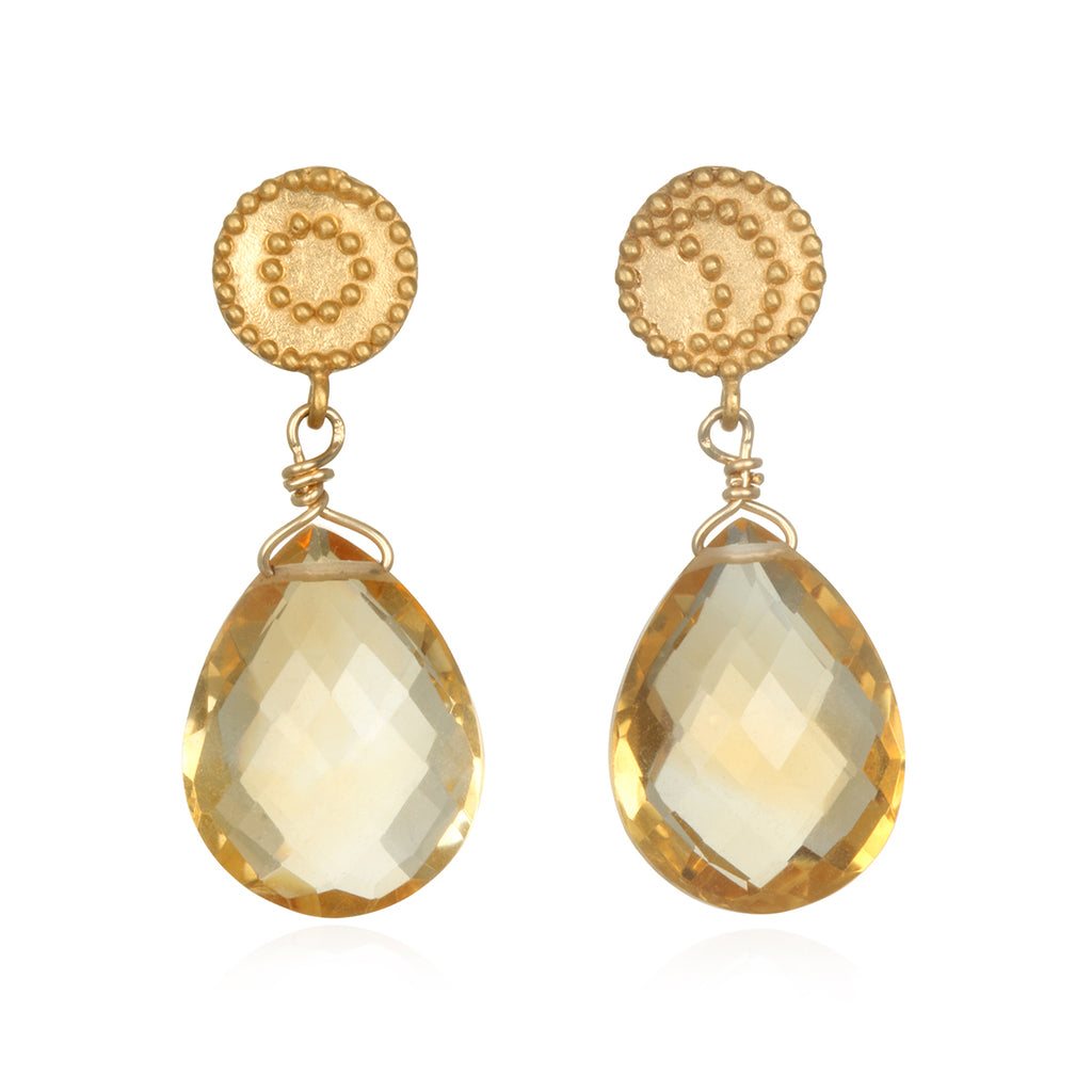 The Solluna Joyful Goddess Earrings - Satya Jewelry
