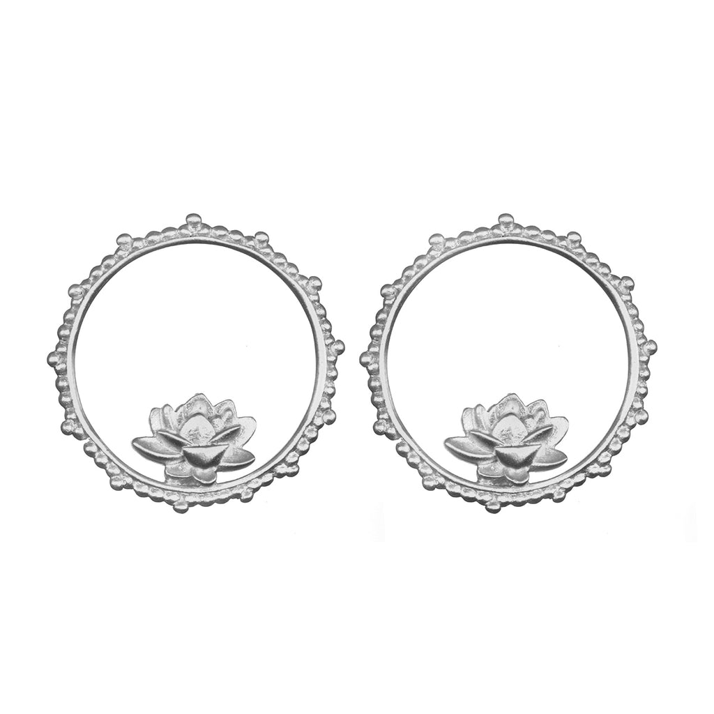 Emerging Beauty Silver Earrings - Satya Jewelry